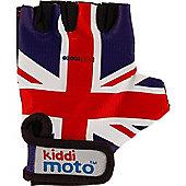 Kiddimoto Gloves Union Jack (Small)