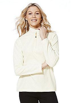 Tesco Regatta Sweethart Symmetry Fleece - Cream