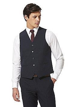 F&F Regular Fit Waistcoat - Navy Blue