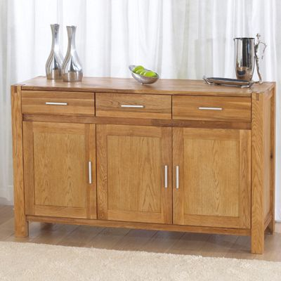 Mark Harris Furniture Verona Oak Sideboard - Large