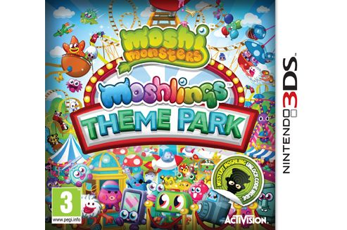 Moshi Monsters - Moshlings Theme Park (3DS)