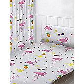 Flamingos Curtains - Pink