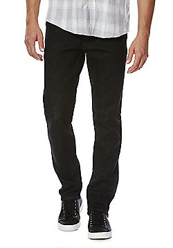 F&F Stretch Slim Leg Jeans - Washed black