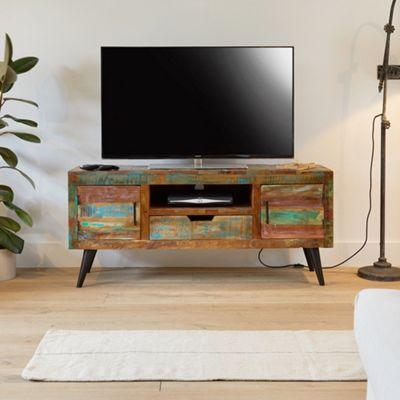 Coastal Chic Widescreen TV Cabinet - TV Cabinet