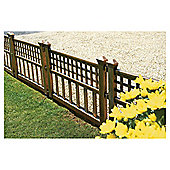 Bronze Fence Panels - Pack of 4