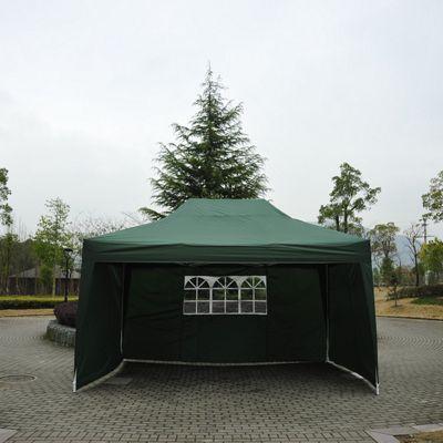 Outsunny 3m x 4.5m Garden Pop Up Gazebo - Green