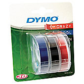 Dymo Tri Colour Pack. S0847750