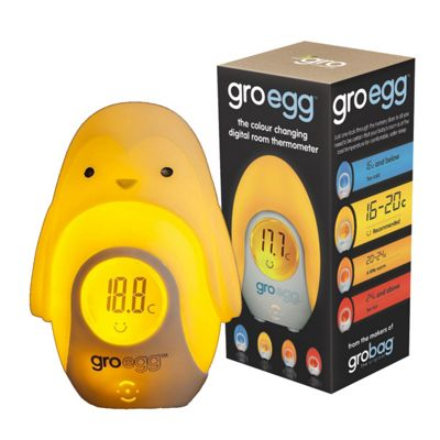 Gro Egg Thermometer & Gro Egg Shell - Percy the Penguin