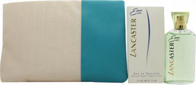 Lancaster Eau de Lancaster Gift Set 75ml EDT + 200ml Body Milk + Beauty Bag