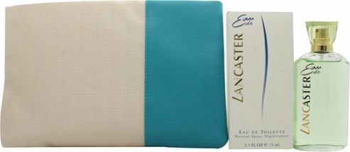 Lancaster Eau de Lancaster Gift Set 75ml EDT + 200ml Body Milk + Beauty Bag