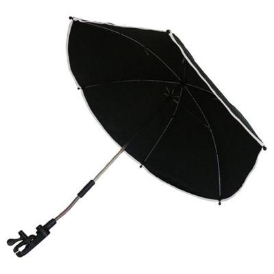 Petite Star Parasol Black/Silver