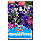 Mr Fothergill's Mixed Blue Hardy Annual Flower Seed Shaker Box