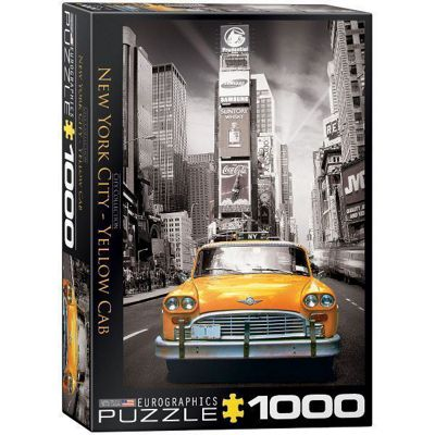 NewYork - Yellow Cab - 1000pc Puzzle