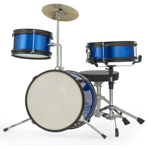 Stagg TIM JR 3/12 BL Junior 3 Piece Drum Kit - Blue