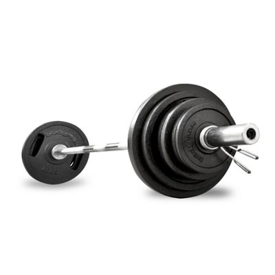 Bodymax 185kg Olympic Cast Barbell Kit