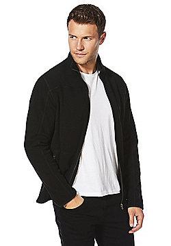 F&F Zip-Though Fleece - Black