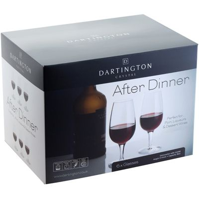 Dartington After Dinner Set of Six Port Glasses