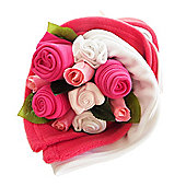 Traditional Cerise Baby Bouquet Bundle