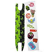 Madd Gear Madd Skulls Scooter Shock Tape - Green/Black