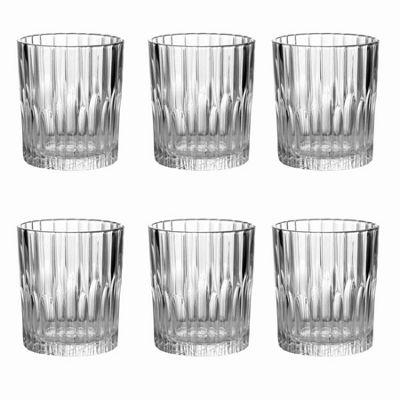 Duralex Manhattan Water / Whisky Tumbler Glasses - 220ml - x6