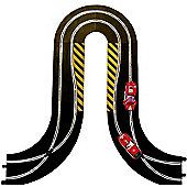 Scalextric Sport Track C9012J Hairpin Curve And Side Swipes
