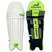 Woodworm Glowworm Mega Cricket Batting Pads - Youths Right Hand + Left Hand