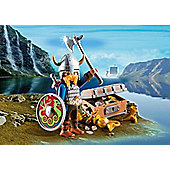 Playmobil Viking With Treasure
