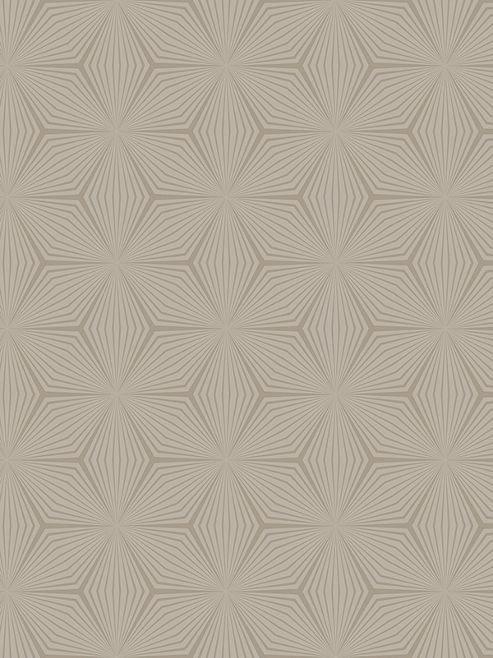 Geometric Star Wallpaper Gold / Taupe Holden 12619