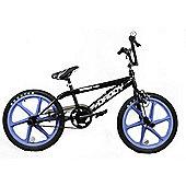 "Rooster Big Daddy Kids BMX Bike 20"" Lavander Skyway Mag Wheels Gyro Black"