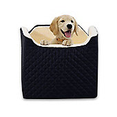 PawHut Pet Car Seat Luxury Dog Small Puppy Carrier Car Booster Seat 43 x 55 x 48cm