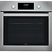 Whirlpool AKP7460IX 600mm Built-in Single Electric Oven, Stainless Steel