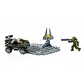 Mega Bloks Halo Micro-Fleet Warthog Attack