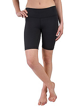 Zakti Shimmy Shorts IsoCool Fabric with Anti-chafe Flat Seams and Fully Opaque - Black