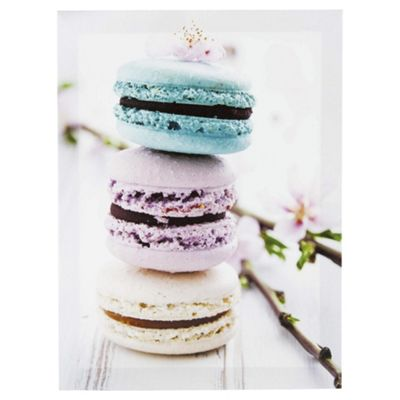 Macaroons Canvas Wall Art