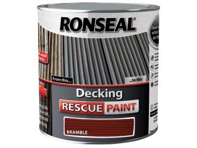 Ronseal Decking Rescue Paint Bramble 2.5 Litre RSLDRPB25L