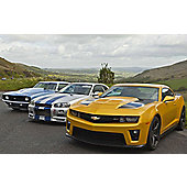 Four Supercar Thrill with High Speed Passenger Ride - Special Offer!