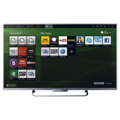 Sony KDL32W654 32 Inch Smart WiFi Built In Full HD 1080p LED TV With Freeview HD - Silver