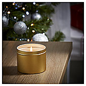 Tesco Christmas Sweet Clementine Tin Candle