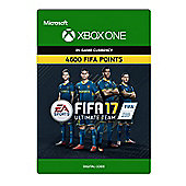 Xbox - FIFA 17 Ultimate Team FIFA Points 4600