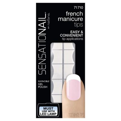 Sensationail French Manicure Tip Refills