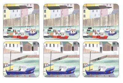 Pimpernel Harbour Coasters, Set of 6