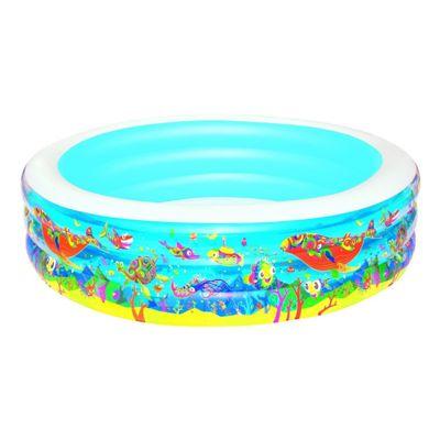 Aquarium Round Paddling Pool 90