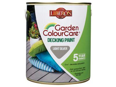 Liberon Decking Paint Light Silver 2.5 Litre
