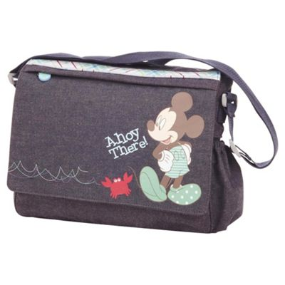 Obaby Changing Bag Retro Mickey Denim