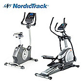 NordicTrack Cardio Package 3: E7.2 Elliptical Trainer & GX3.4 Cycle
