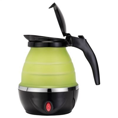 Gourmet Gadgetry GG2586 Electric Collapsible Travel Kettle, 0.8 L - Black