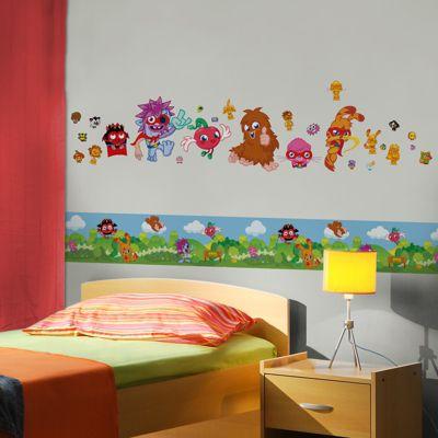 Moshi Monsters Mash Up Self Adhesive Wallpaper Border 5m