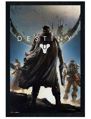 Destiny Black Wooden Framed Cover Art Poster 61x91.5cm