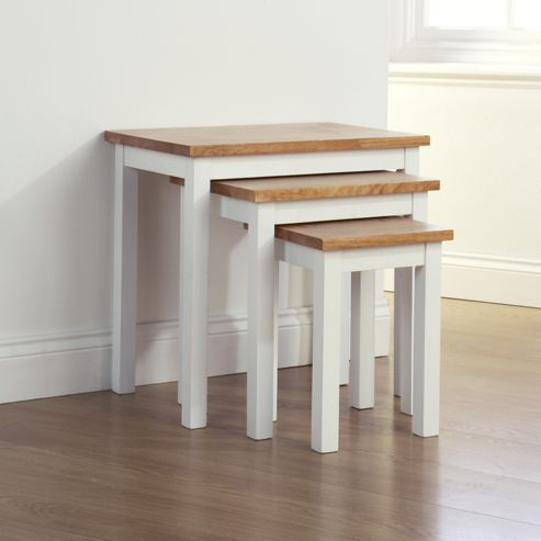 Elements Hudson 3 Piece Nest of Tables