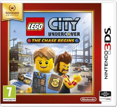 Lego City Undercover Selects (3DS)